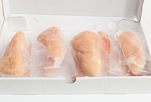 Plain Boneless Skinless Chicken Breast 6 oz+ (8-11 pieces)