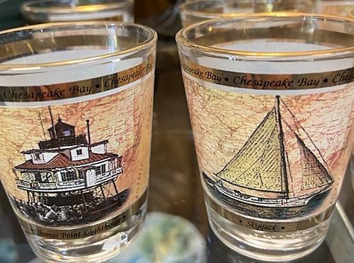 Chesapeake Bay Shot Glasses