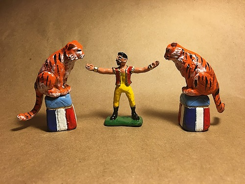 Big Cat Circus Trainer Toy Soldier